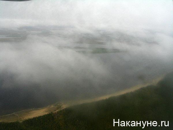 река обь тундра облака|Фото: Накануне.ru