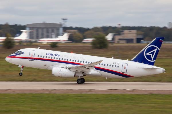 SSJ-100 Sukhoi Superjet 100 Суперджет ГСС|Фото:Накануне.RU