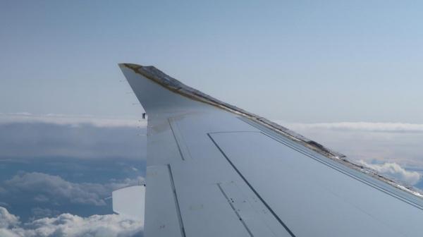 крыло SSJ-100 Суперджет законцовка сайберлет|Фото:Накануне.RU