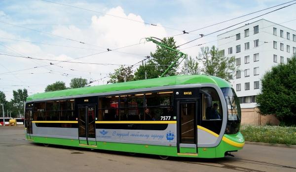 ЛМ-68М трамвай общественный транспорт Санкт-Петербург|Фото:Википедия