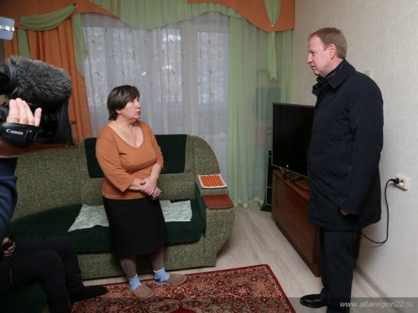 Виктор Томенко губернатор Алтайского края Фото:altairegion22.ru