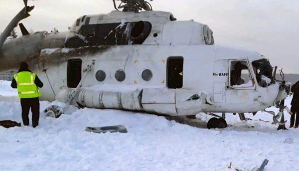 в аварии Ми-8 в Красноярском крае увеличилось до 19