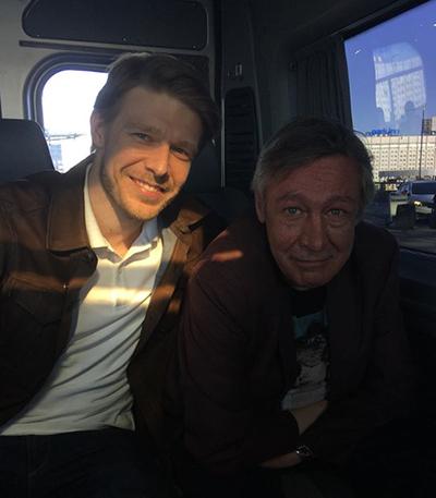Никита Ефремов и Михаил Ефремов. |Фото:instagram.com/efremovefremov