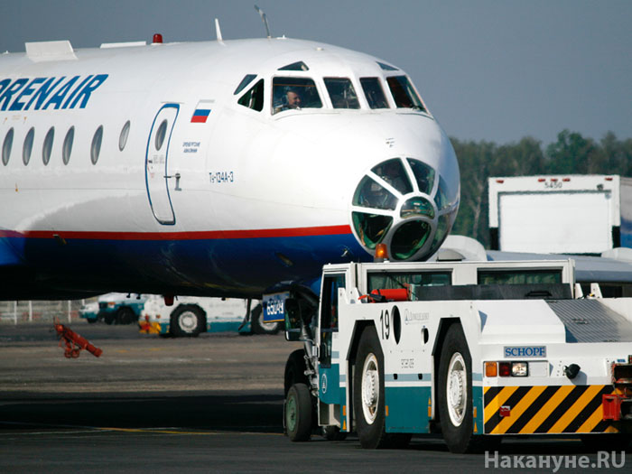 Ту-134 Оренэйр Оренбургские авиалинии аэропорт Домодедово руление самолет Orenair|Фото: Накануне.RU