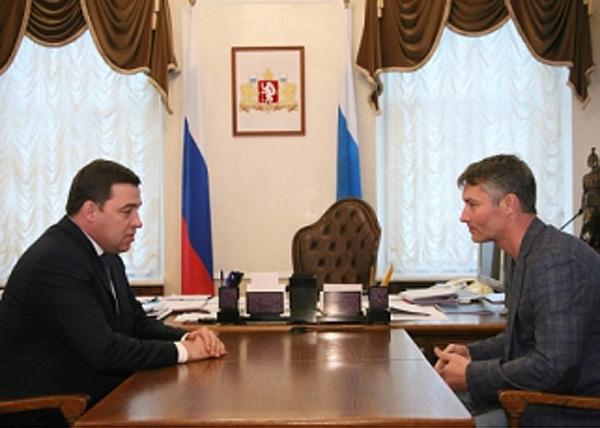 Куйвашев, Ройзман|Фото: gubernator96.ru