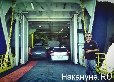Керченский пролив, паром, автомобиль|Фото: Накануне.RU