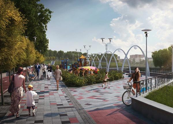 набережная Исети, благоустройство, парк, детская зона|Фото: екатеринбург.рф