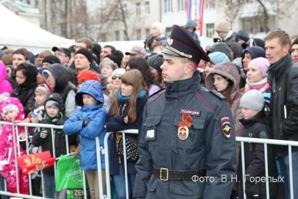 полиция полицейские 9 мая Фото:В.Н. Горелых