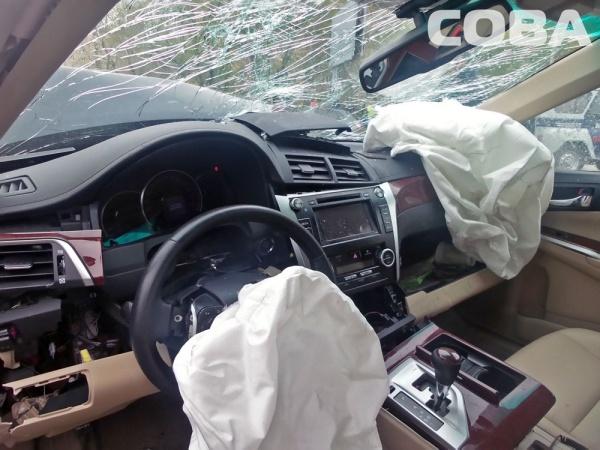 ДТП Токарей-Ключевская Toyota Camry Toyota Corolla|Фото:служба спасения СОВА