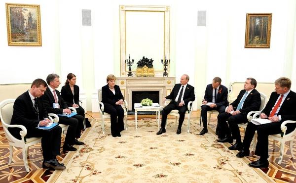 Владимир Путин Ангела Меркель|Фото:kremlin.ru
