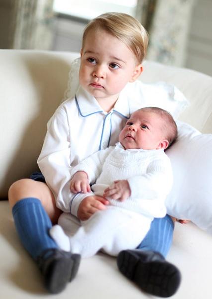 принц Георг принцесса Шарлотта|Фото:Courtesy of Kate Middleton